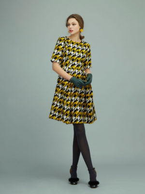 Orion London Jacquard Dress