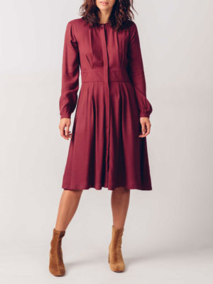 Skfk Iria Dress Burgundy