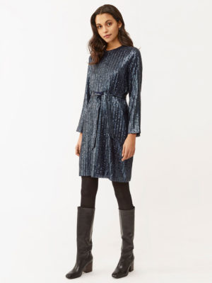 Twist & Tango Britta Sequin Dress Navy