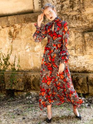 Ananke Dryope Ruffled Dress