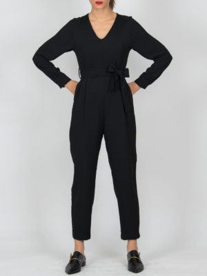 Chaton Jumpsuit Black