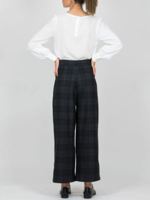 Chaton Plaid Trousers