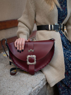"Individual ""Shallow"" Shoulder Bag"