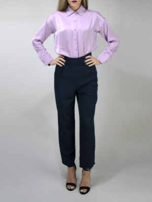 Milkwhite Pants Navy Blue