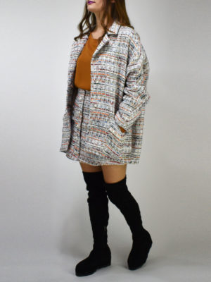 Milkwhite Tweed Jacket