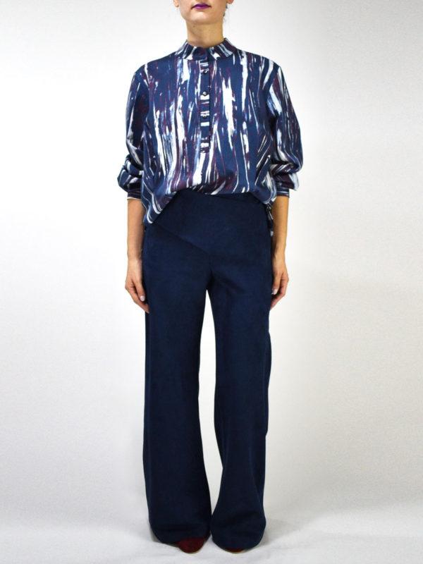 Ofilia's Blue Trousers