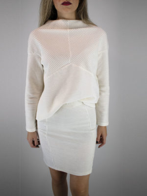 Ofilia's Cord Blouse Off-white
