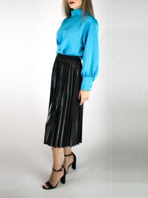 See U Soon Vinyl Skirt