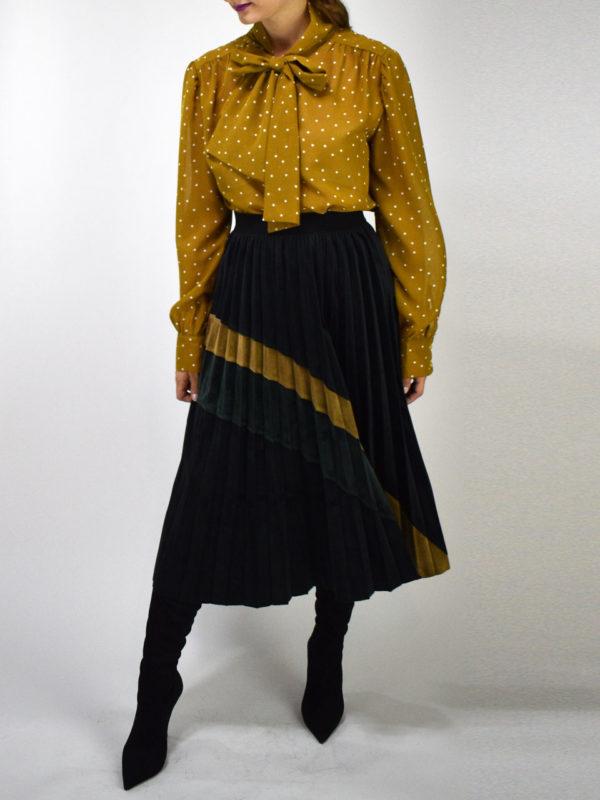 See u Soon Pleated Skirt