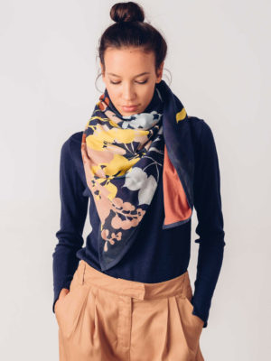 Skfk Scarf Dot Organic Cotton