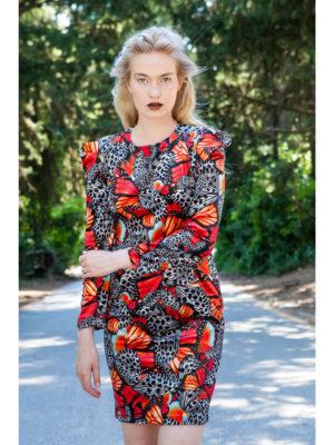 Ananke Dryope Velvet Dress