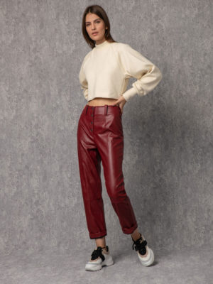 Arpyes Natalie Pants Red