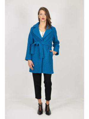 Chaton Aquamarine Overcoat