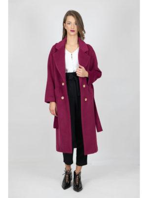 Chaton Coat Magenta