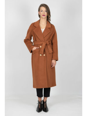 Chaton Coat Orange Bronze