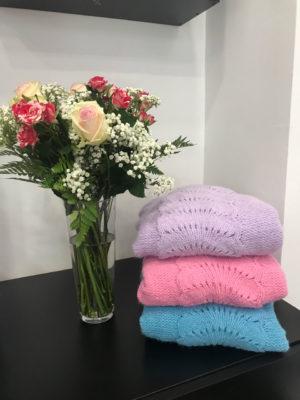 Milkwhite Sweater Lilac