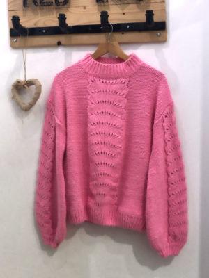 Milkwhite Sweater Pink