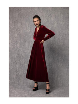 Arpyes Cheryl Dress Red
