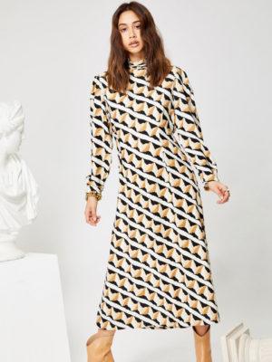 Ghospell Double Take Dress