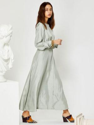 Ghospell Marbel Midi Dress