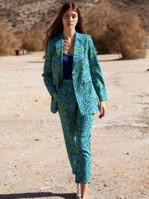 Ananke Nabila printed pants