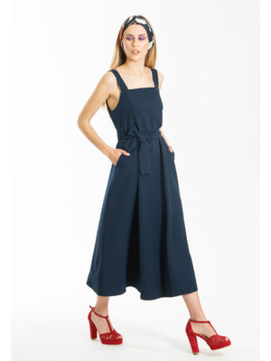Chaton Boing Sleeveless Dress Navy