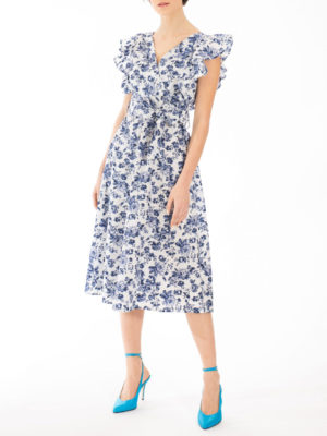 Chaton Rose Midi Dress
