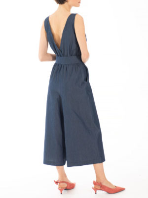 Chaton Denim Jumpsuit
