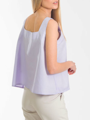 Chaton Diagonal Top Lilac