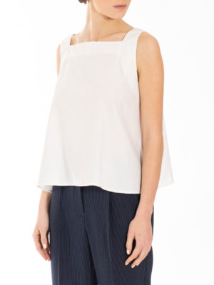 Chaton Diagonal Top White