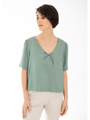Chaton Short Sleeve Top