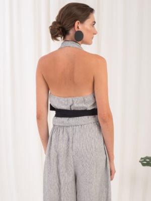 Ofilia's Halterneck Tie Top