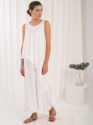Ofilia's Slip Dress White