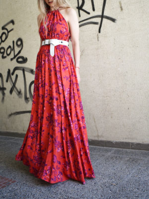 Arpyes Cantarito Dress Flowers
