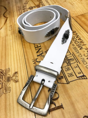 Individual ''Angels'' Belt White