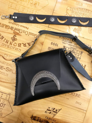 "Individual ""Half light"" Shoulder-clutch Bag"