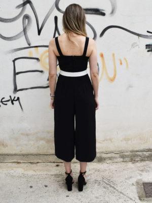 Milkwhite Jumpsuit Black