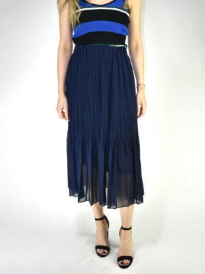 Orion London Cora Skirt Navy