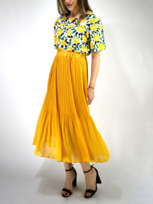 Orion London Cora Skirt Yellow