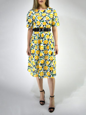 Orion London Floral Skirt