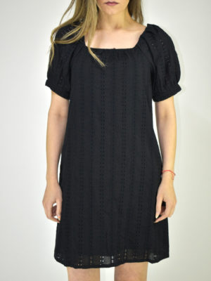 See U Soon Black Short Kippur Dress