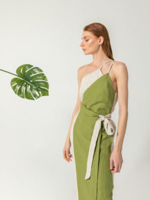 THE KNLs Mayfair Dress Green
