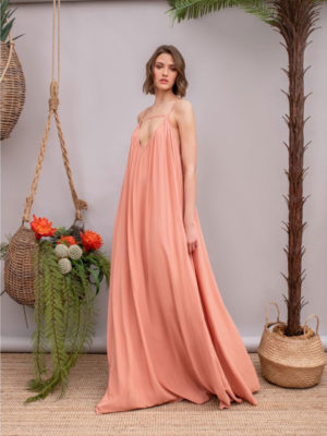 Arpyes Tom Collins Dress Pink