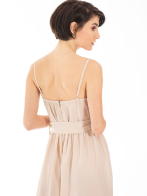 Chaton Gilda Dress Dusty Beige