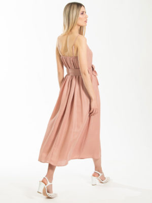 Chaton Gilda Dress Dusty Pink
