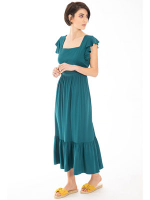 Chaton Sunday Dress Green