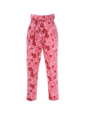 Milkwhite Pants Pink Floral