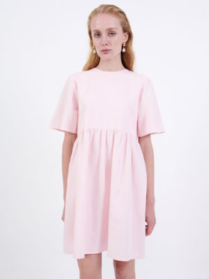 Milkwhite Mini Dress Pink
