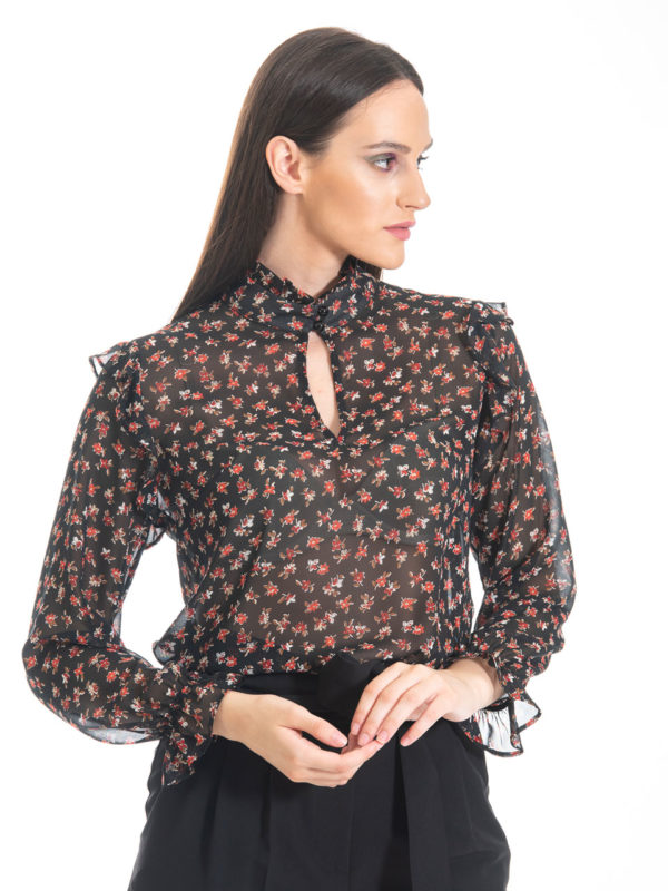 Chaton Night Flower Shirt