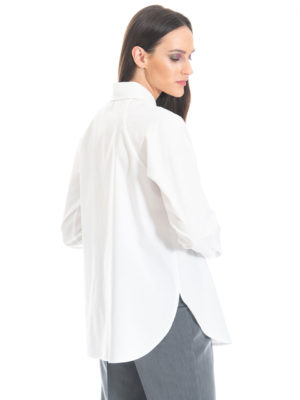 Chaton Oversized Poplin Shirt